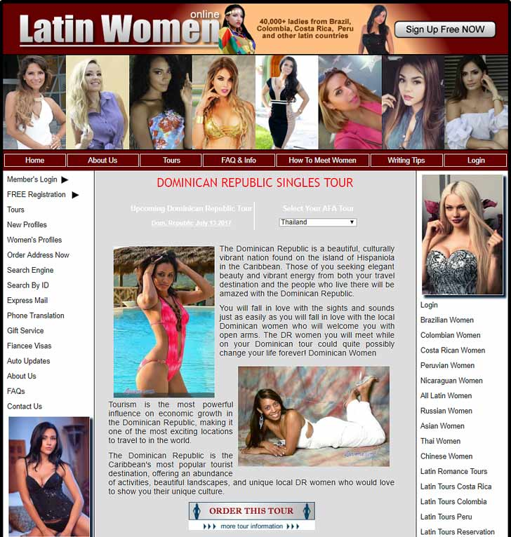 Dominican dating and Dominican matchmaking site